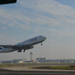 Boeing 747 - Take off