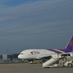 "A380 der ""Thai Airways"""