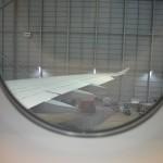 Blick auf gigantische 432m² Flügelfläche